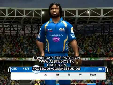 Pepsi IPL 6 Patch for Cricket 07 (Final CSK v MI)