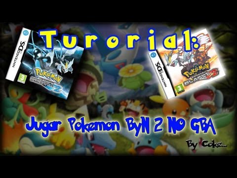 Como Jugar Pokemon Blanco 2 / Negro 2 No$GBA + Links Descarga NINTENDO DS