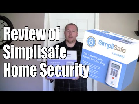 0 Review of Simplisafe Home Security