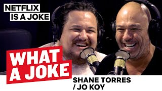 Jo Koy's Road to Success + Shane Torres on Iconic Comedy Sets | What A Joke | Netflix is a Joke