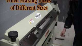 Baileigh BB-5014F Box and Pan Brake Foot Clamping 14 Gauge Capacity Metal Forming Machine