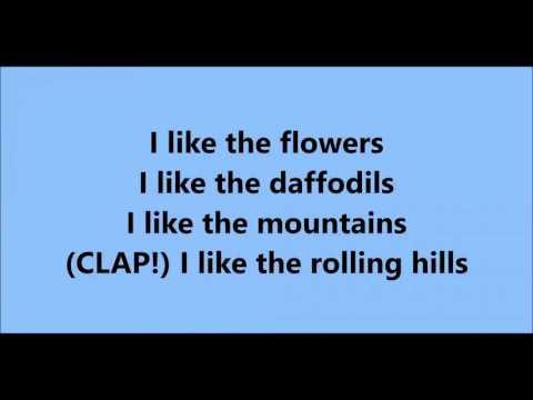 I LIKE THE FLOWERS KARAOKE (SÖZSÜZ)