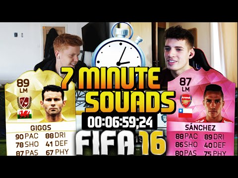 FIFA 16 7 MINUTE SQUAD BUILDER! LEGEND RYAN GIGGS!!