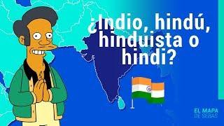 🇮🇳🇮🇳DIFERENCIA entre INDIO, HINDÚ e HINDI🇮🇳🇮🇳