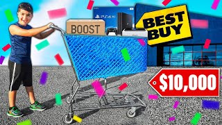 Anything You Fit In The Cart, I'll Buy It! (SHOPPING SPREE CHALLENGE!)