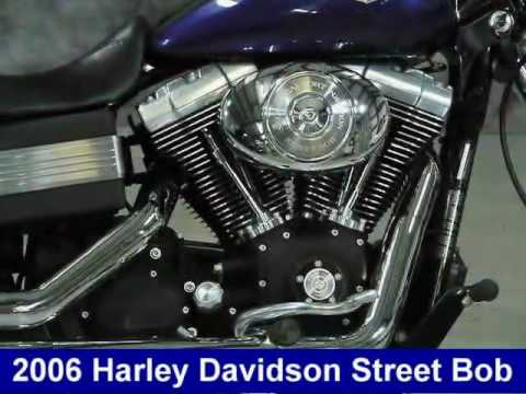 2006 Harley Davidson Dyna Street Bob FXDBI for sale Video