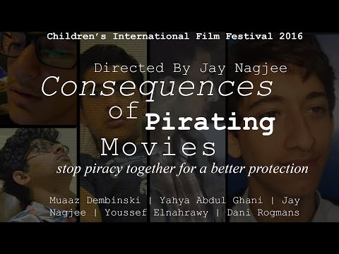 CIFF [Dubai Customs Contest]: CONSEQUENCES OF PIRATING MOVIES