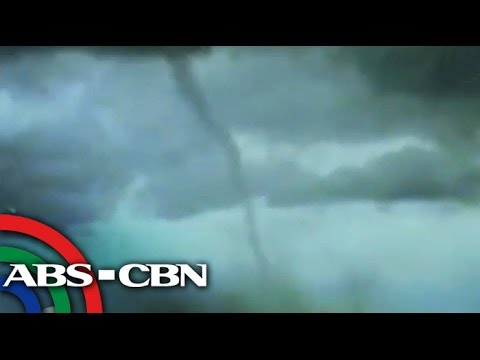 Tornado caught on video in Pangasinan