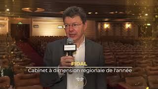 Palmarès du Droit 2021   Fidal Cabinet à dimension régionale de l'année