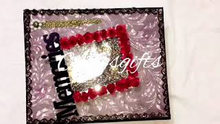 Handmade album/scrapbook for someone special || By-anshu patel