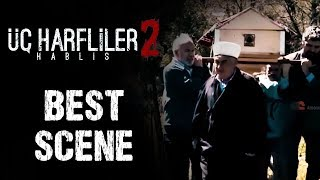 UC Harfliler 2: Hablis | Turkish Horror Movie | Scene 9 | Funda Aksoy | Elvan Albat