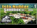 🦕Let's build the Ultimate Dino Park   Sandbox with ALL dinosaurs   Jurassic World Evolution   Ep. 1