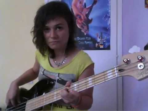 RHCP - The Adventures of Raindance Maggie [bass cover] + tabs!