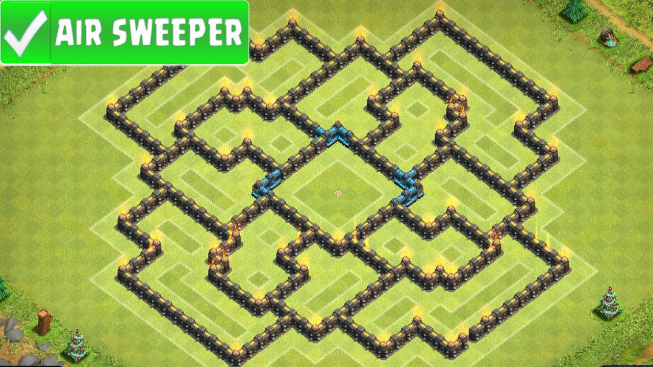New Layout Th9 With Air Sweeper Air Sweeper Edit Th9