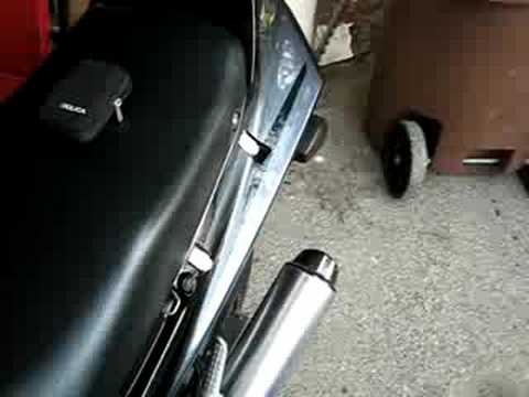 STOCK 1992 KAWASAKI NINJA ZX-6 ZX600D EXHAUST SOUND