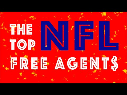The top 12 NFL free agents in 2019