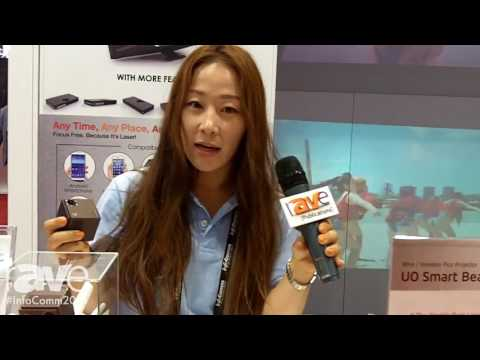 InfoComm 2016: Korea Distribution Center Shows UO Smart Beam Laser Wireless Projector