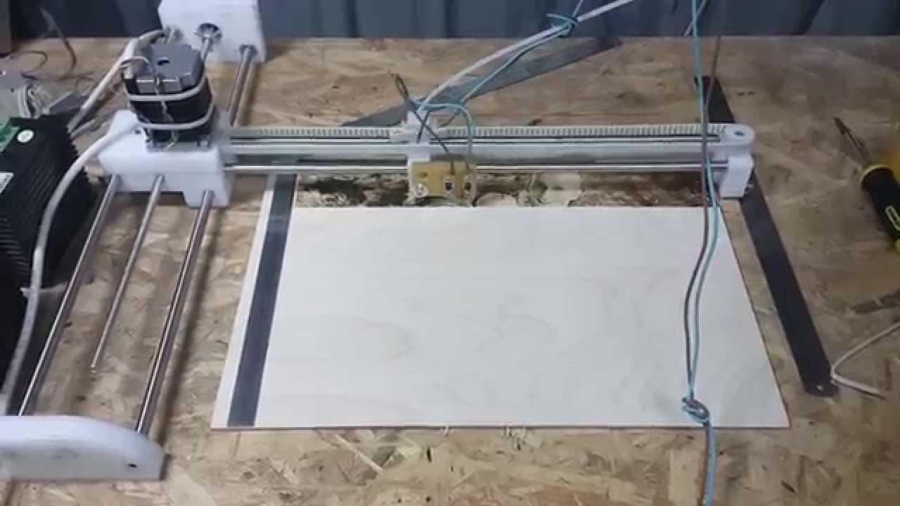 Выжигатель чпу из принтера своими руками