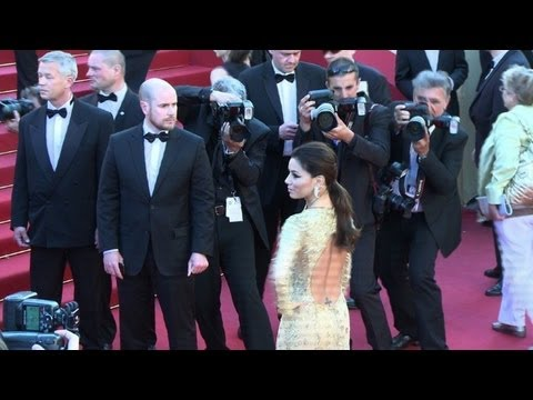 Eva Longoria on Cannes red carpet