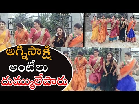 Agnisakshi Team Tiktok video | Telugu DubsMash Videos | Whatsapp Videos | Gavva Media