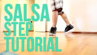 How to Breakdance I Salsa Steps I Top Rock Basics