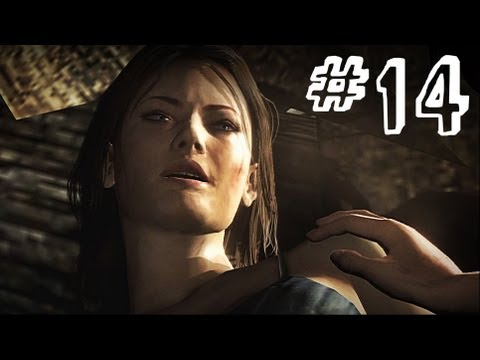 Resident Evil 6 Gameplay Walkthrough Part 14 - MINE CART - Leon / Helena Campaign Chapter 2 (RE6)