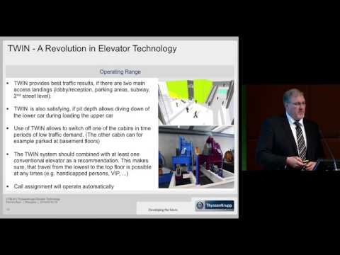 "CTBUH 2014 Shanghai Conference - Patrick Bass, ""Energy-Efficient Elevator Solutions"""
