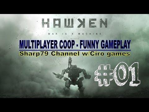 "102 – HAWKEN #01 – "" Funny Gameplay "" – Sharp79 w/Ciro Games – HD 60Fps – [Sharp79]"