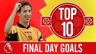 Top 10 Premier League Final day goals | Coutinho, Fowler, Torres and more