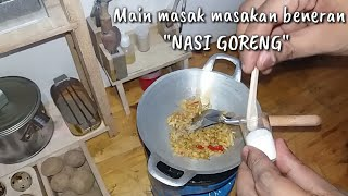 "Miniature Cooking ""Indonesian fried rice"" 
