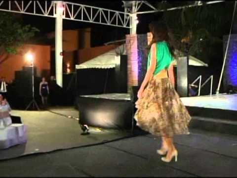 Presentación Oficial - Parte 1 - Candidatas a Miss Nicaragua 2013
