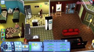 The Sims 3 - Acer Aspire 5750g gameplay