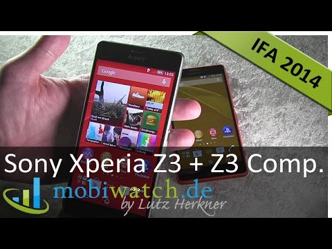Sony Xperia Z3 vs. Z3 Compact: Erster Hands-on-Test