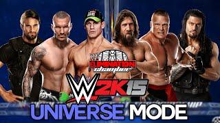WWE 2K15 Universe Mode -