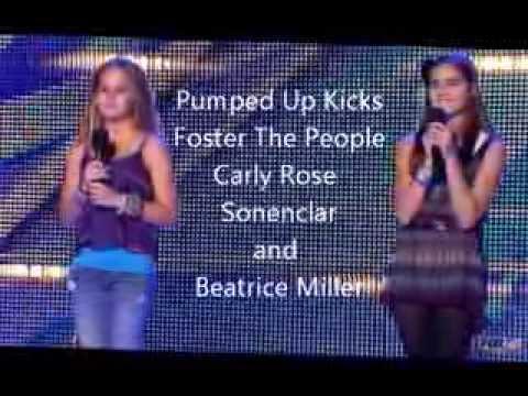 Pumped Up Kicks (lyrics) - Beatrice Miller Vs. Carly Rose Sonenclar video