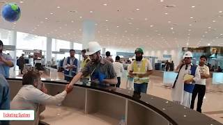 First flight Landed At New Islamabad Airport  APR 2018