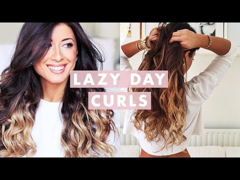 Lazy Curls for Lazy Days (Heatless)