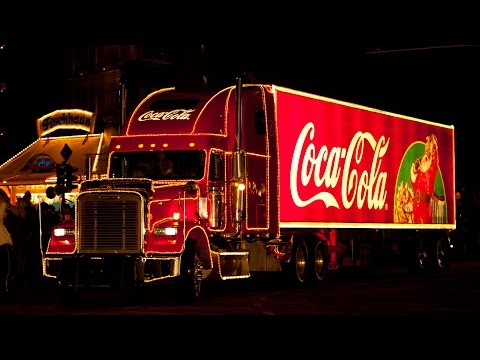 Coca Cola Weihnachtstruck Tour Parade Christmas Coke Trucks 2010 Berlin