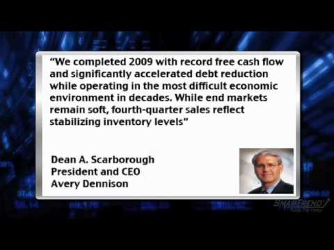 Earnings Report: Avery Dennison (NYSE:AVY) Falls on Missed EPS Estimates, Weak FY 2010 Guidance