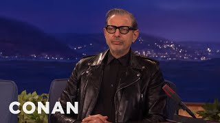 Jeff Goldblum Doesn't Want To Go To Space  - CONAN on TBS