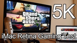 Grand Theft Auto V PC in 5k on Retina iMac! Performance Test