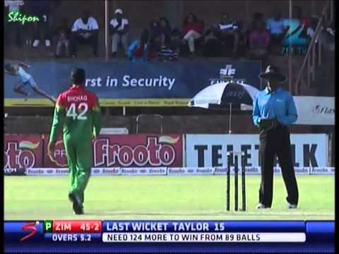 Extended Highlights of 2nd Twenty20 between Bangladesh and Zimbabwe (12.05.13)