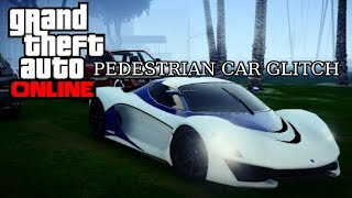 "GTA 5 Online - ""New"" Pedestrian Parked Car Glitch: 1.16 After Patch!"