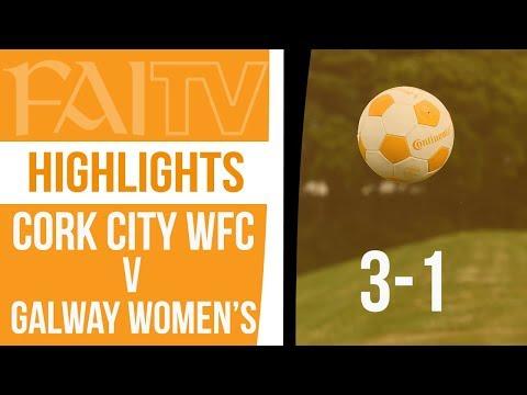 HIGHLIGHTS: Cork City 3-1 Galway Women's