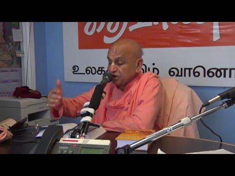 H.H.Navayogendra Swami at Toronto Tamil Radio