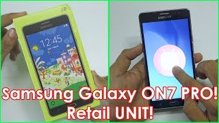 Samsung Galaxy ON 7 PRO Unboxing & Initial Impressions with small Comparison with Redmi Note 3!