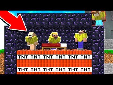 TROLLING FANS IN MINECRAFT BED WARS! (Minecraft Trolling)