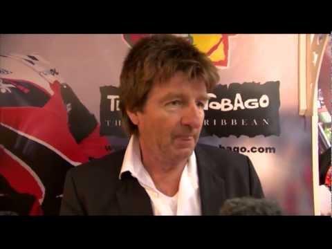 Karl Pilstl, owner, Blue Haven Hotel @ WTM 2012