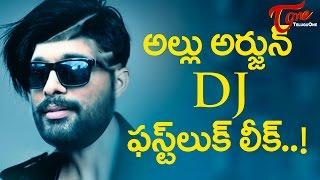 Allu Arjun  Duvvada Jagannatham First Look Photos Leaked #DJFirstLook