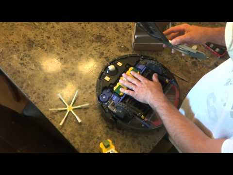 How to Remove and Replace the Battery in the iRobot Roomba 500 and 600 Series